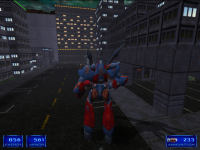 Shogo Mech Third Person Screenshot