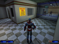 On-Foot Third Person Screenshot